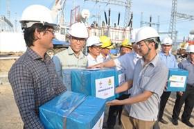 Công đoàn Điện lực Việt Nam thăm hỏi động viên công nhân