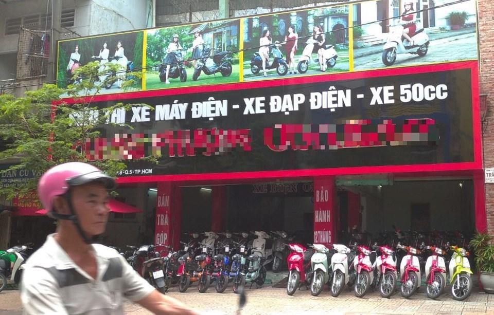Sau thời điểm được người dân đổ xô mua sắm, thời điểm này dòng xe máy, xe đạp điện đang trở nên ế ẩm. Ảnh: Chân Phúc