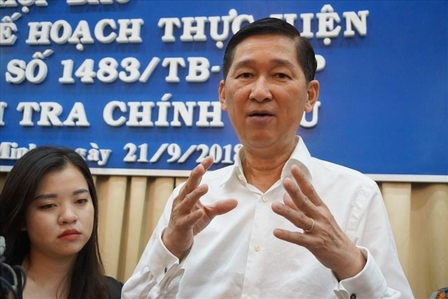 Ông Trần Vĩnh Tuyến được HĐND TPHCM bầu giữ chức Phó Chủ tịch UBND thành phố vào tháng 4.2016. Ảnh: Minh Quân