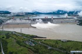 Thử thách lớn nhất với đập Tam Hiệp trong mùa lũ sông Dương Tử vẫn chưa tới