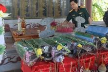 Phát hiện 7 hài cốt liệt sĩ ở khu vực Động Mít