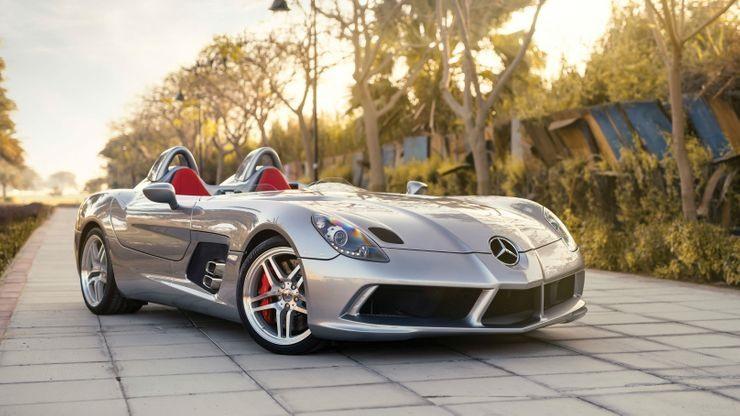 Chỉ 75 chiếc siêu xe Mercedes-Benz Stirling Moss phiên bản giới hạn được tạo ra. Ảnh: The Cars