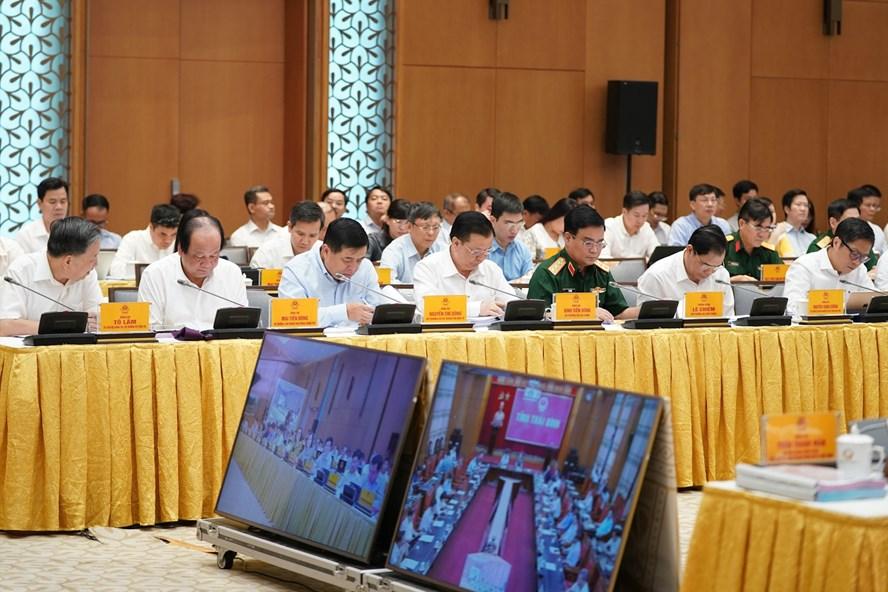 Hội nghị trực tuyến Chính phủ với các địa phương về tình hình phát triển kinh tế xã hội 6 tháng đầu năm 2020. Ảnh VGP