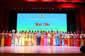 Công đoàn TKV: Cán bộ nữ công giỏi sôi nổi tranh tài