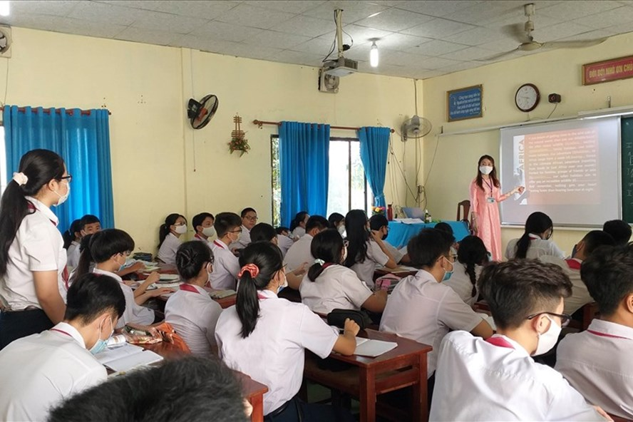 Đà Nẵng cho học sinh nghỉ học từ 13h ngày 26.7. Ảnh: Thuỳ Trang