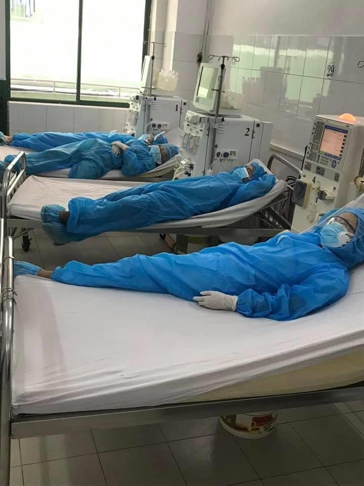 Ảnh từ Facebook của bác sĩ Bệnh viện Đà Nẵng