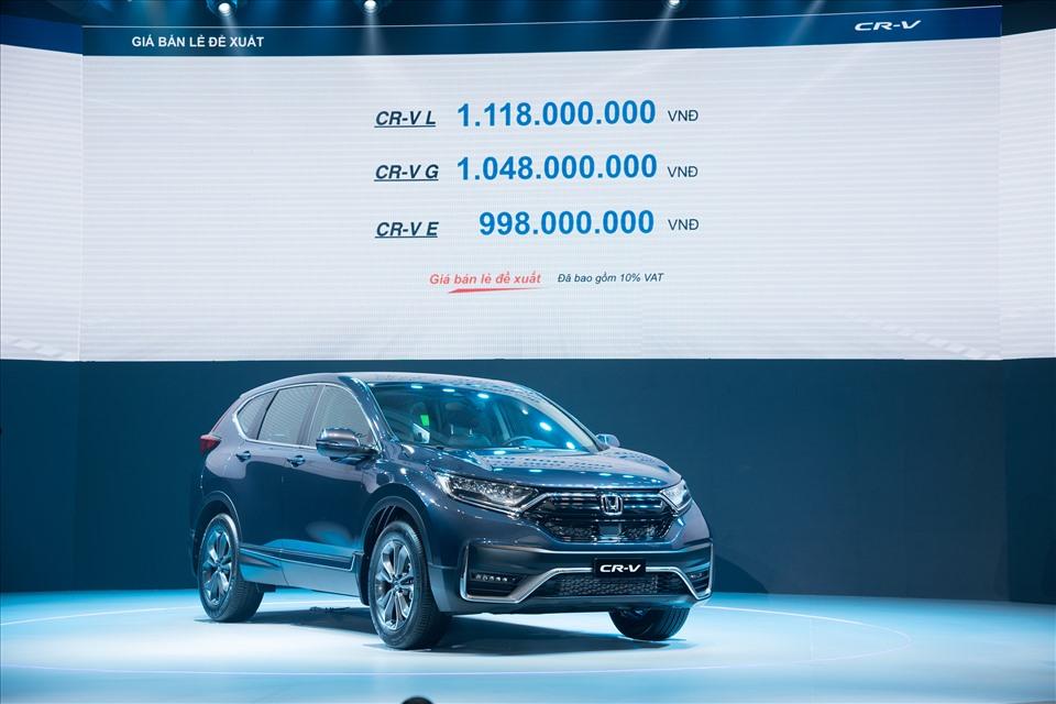 Honda CR-V 2020 chính thức ra mắt thị trường Việt Nam
