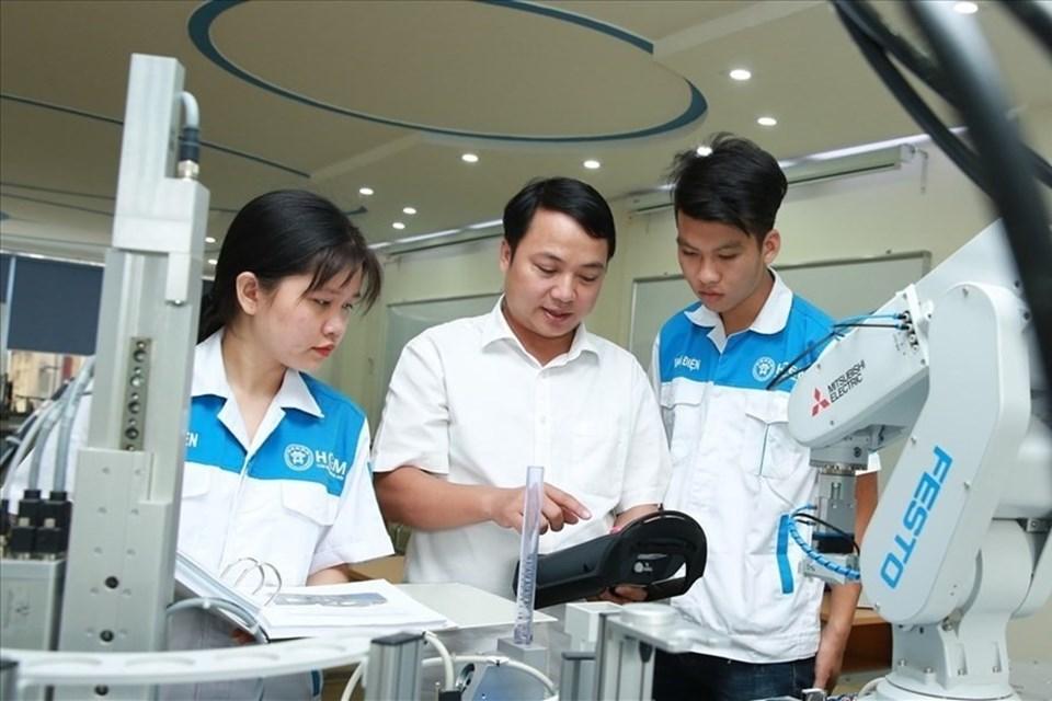 Cơ sở giáo dục nghề nghiệp. Ảnh Nguyễn Hải.