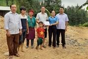 Hà Giang: Kịp thời hỗ trợ người lao động bị sập nhà do thiên tai