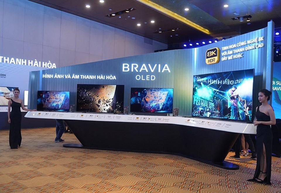 Loạt TV Bravia mới 2020 được Sony chính thức ra mắt tại thị trường Việt Nam.