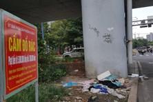 TPHCM: Đại lộ trung tâm nhếch nhác vì rác tràn lan