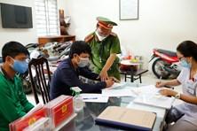Hàng trăm trường hợp không đeo khẩu trang ngừa COVID-19 bị xử phạt