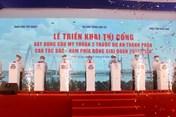 Triển khai thi công cầu Mỹ Thuận 2 và đường dẫn hai đầu cầu