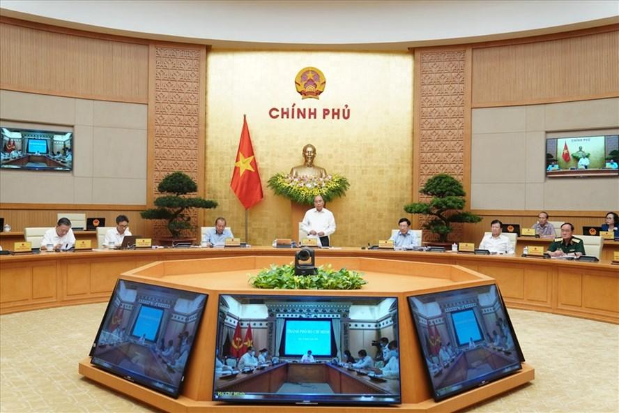 Chính phủ vừa có Nghị quyết phiên họp thường kỳ tháng 7.2020. Ảnh Quang Hiếu.