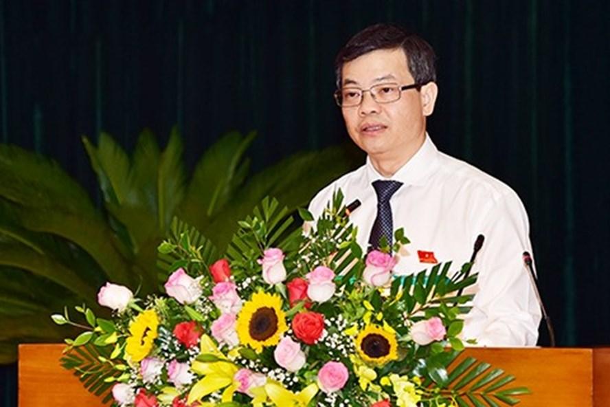 Ông Nguyễn Văn Sơn được bầu giữ chức Chủ tịch UBND tỉnh Tuyên Quang. Ảnh: Báo Tuyên Quang