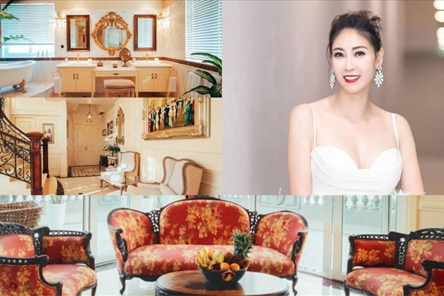 Penthouse sang trọng của hoa hậu Hà Kiều Anh. Ảnh: NSCC