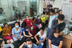 Gần 100 công nhân Công ty TNHH AARU ngừng việc đòi lương