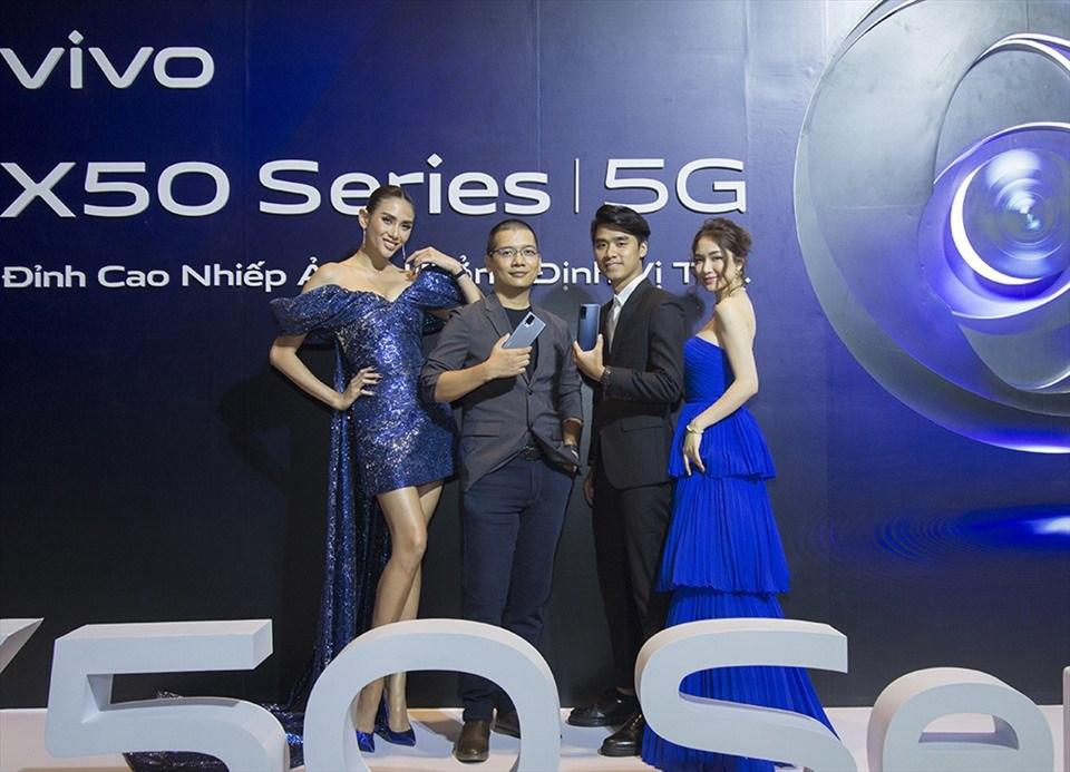 Bộ đôi X50 series của Vivo ra mắt tại thị trường Việt Nam.