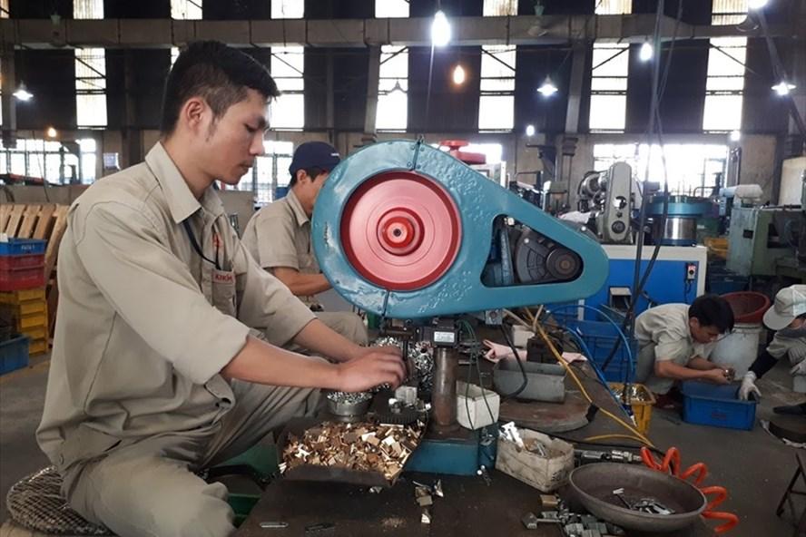 Cơ khí vẫn là một trong những ngành có nhu cầu tuyển dụng lớn trong năm 2021. Ảnh: Hải Nguyễn