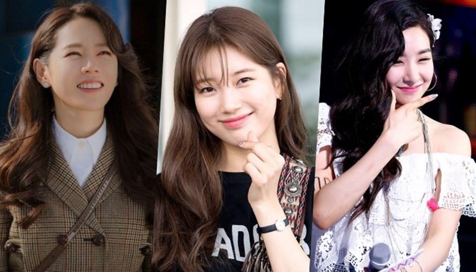 Đôi mắt cười thu hút của Son Ye Jin, Suzy và Tiffany (Ảnh: Chụp màn hình).