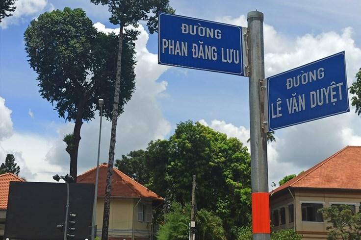 TPHCM: Đường Đinh Tiên Hoàng chính thức đổi tên thành đường Lê Văn Duyệt