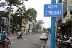 Đổi tên đường Lê Văn Duyệt: Tạo điều kiện thuận lợi cho dân đổi giấy tờ