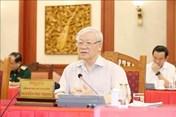Bộ Chính trị ghi nhận kết quả nổi bật của Đảng bộ Công an trong nhiệm kỳ qua