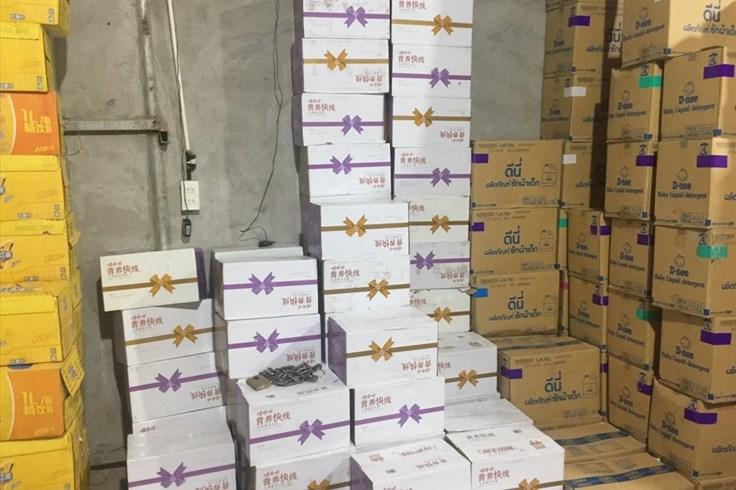 Hà Nội: Tạm giữ gần 40.000 chai sữa chua không rõ nguồn gốc