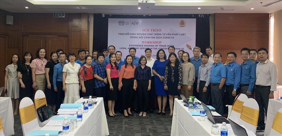 Các đại biểu tham gia Hội thảo. Ảnh: Việt Lâm