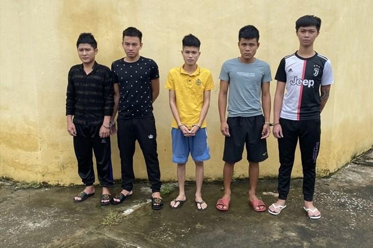 Thanh Hóa: Bắt tạm giam 5 đối tượng gây rối trật tự công cộng