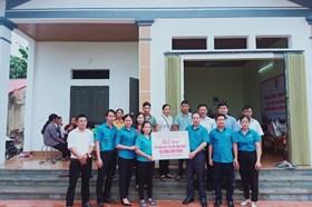 Bắc Giang: Khánh thành nhà Mái ấm Công đoàn cho đoàn viên