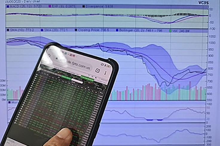 Chứng khoán đầu tuần tăng nhờ lực kéo từ cổ phiếu ngân hàng