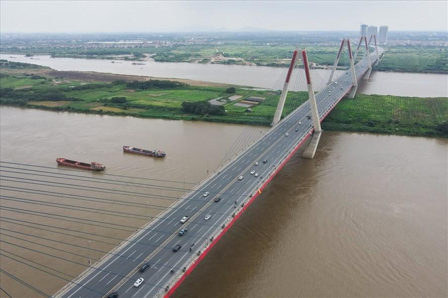Cầu Nhật Tân - Hà Nội, một câu chuyện tiêu biểu liên quan đến vốn ODA của Nhật Bản. Ảnh: Hải Nguyễn - Tuấn Anh