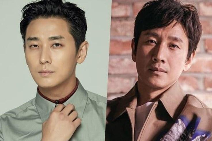 Diễn viên Joo Ji Hoon - Lee Sun Gyun đóng phim thảm họa