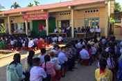 Trà Vinh: Hàng trăm học sinh không thể đến lớp ngày khai giảng