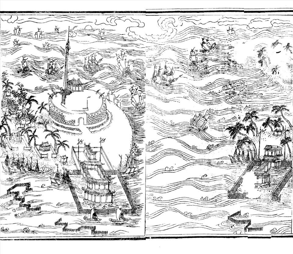 Hải Nhi quan ngư (cảnh biển Thuận An)