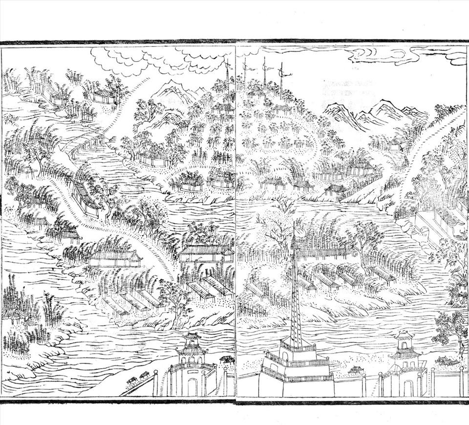 Bình lãnh đăng cao (cảnh núi Ngự Bình)