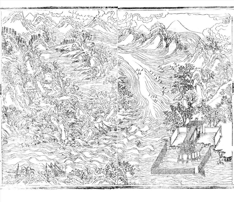 15- Trạch nguyên tiếu lộc (cảnh săn nai đầu nguồn sông Hương)
