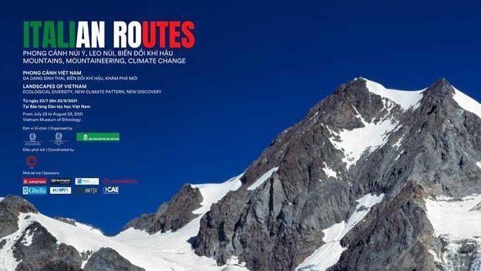 """Khai mạc triển lãm song hành """"Italian Routes – Phong cảnh núi Ý"""" và """"Phong cảnh Việt Nam"""""""