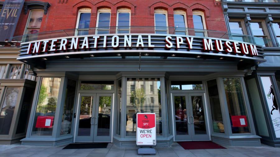 Bảo tàng gián điệp Quốc tế. Ảnh: CNN