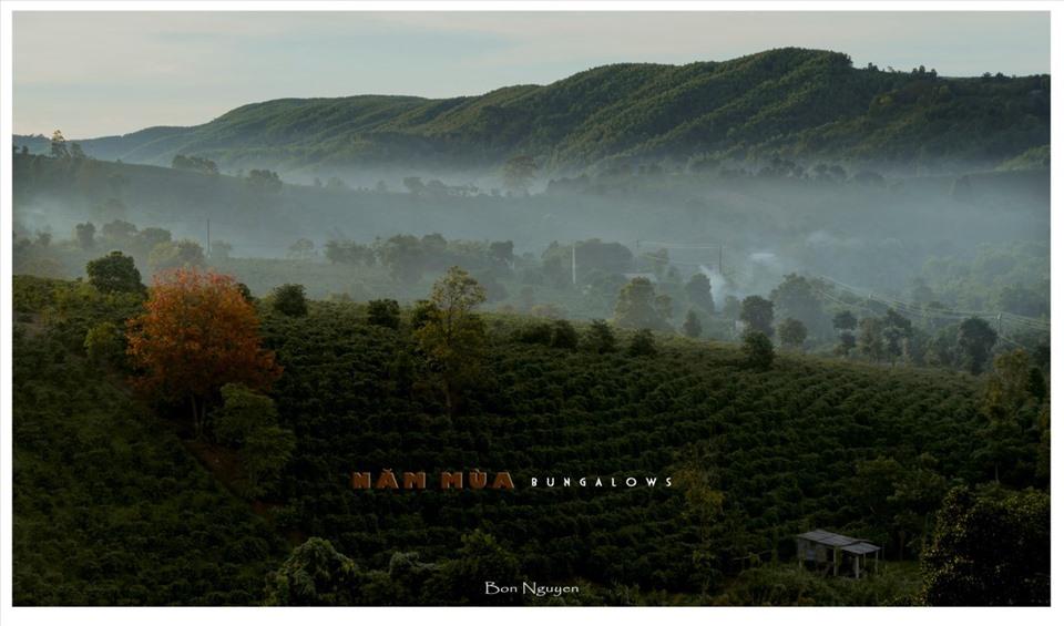 Săn mây ở Năm Mùa Bungalows. Ảnh: Nguyễn Bôn