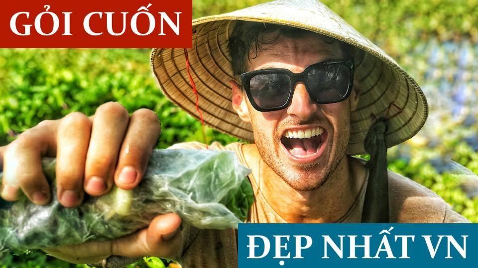 """Kênh Youtube của Dustin mang tên """"Vietnam Meets Dustin"""" gồm các video liên quan đến Việt Nam."""
