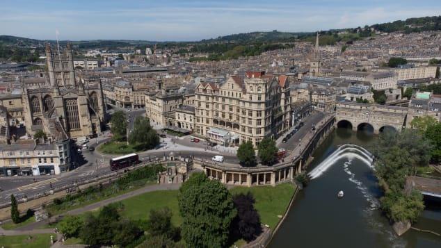 Thành phố Bath, Anh đã được UNESCO công nhận từ năm 1987. Ảnh: CNN