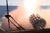 Tàu chiến, tàu ngầm Nga dồn dập nã 6 tên lửa Kalibr tiêu diệt IS ở Syria