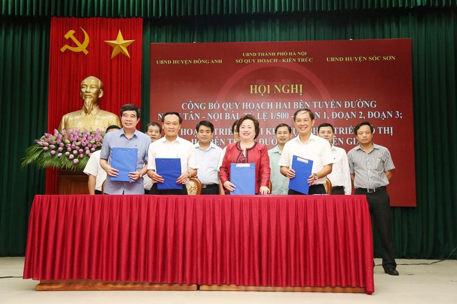 Tập đoàn BRG và Tập đoàn Sumitomo ký kết hợp tác dự án hai bên trục Nhật Tân - Nội Bài.