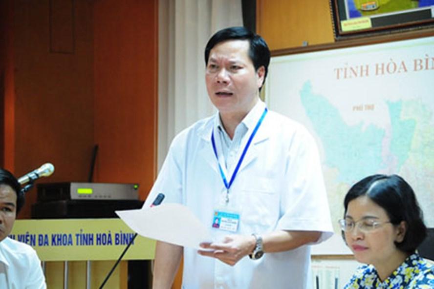 Giám đốc BV đa khoa tỉnh Hoà Bình ông Trương Quý Dương.
