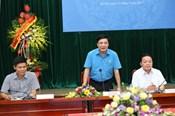 Video: Chủ tịch TLĐLĐVN và Bộ Trưởng Bộ TN&MT chúc mừng báo Lao Động nhân dịp 88 năm thành lập
