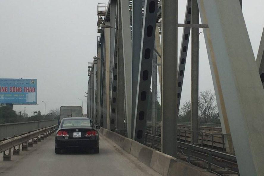 Cầu Việt Trì, Phú Thọ sẽ cho phép ô tô dưới 7 chỗ lưu thông từ 20.8.