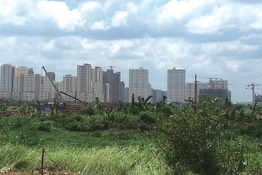 Khu tái định cư 12.500 căn hộ dành cho người dân bị giải tỏa.