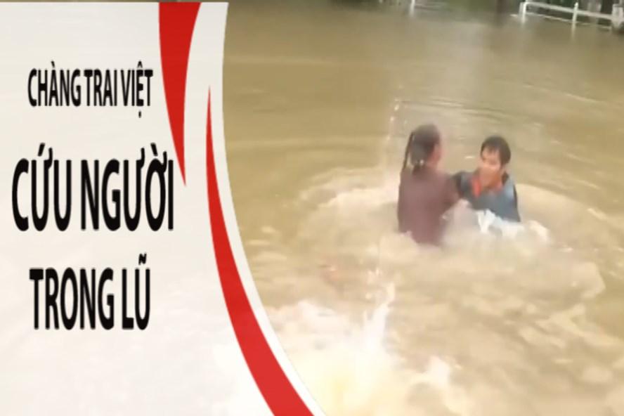 Chàng trai gốc Việt can đảm cứu người trong cơn lũ ở Mỹ